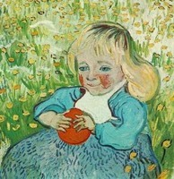 Van Gogh - Enfant et orange