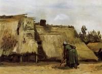 Van Gogh - Femme qui pioche