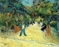 Van Gogh - Entrée du parc public à Arles