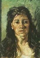 Van Gogh - Femme aux cheveux défaits