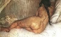 Van Gogh - Feme nue au repos