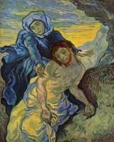 Van Gogh - La Vierge et le Christ