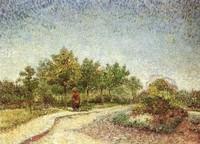 Van Gogh - Le Parc d'Argenson à Asnières