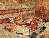 Van Gogh - Livres et rose