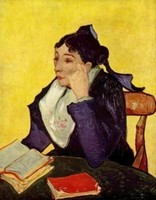 Van Gogh - Madame Ginoux, l'Arlésienne