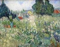 Van Gogh - Mademoiselle Gachet dans le jardin