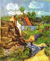 Van Gogh - Maisons à Auvers