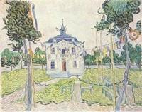 Van Gogh - Mairie d'Auvers