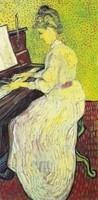 Van Gogh - Marguerite Gachet au piano