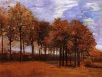 Van Gogh - Paysage d'automne