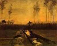Van Gogh - Paysage à Dusc