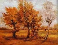 Van Gogh - Paysage en automne