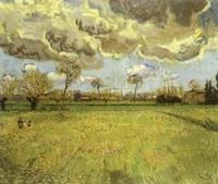 Van Gogh - Paysage sous des nuages