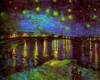 Van Gogh - Paysage nocturne