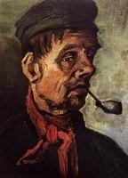 Van Gogh - Paysan avec pipe