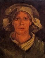 Van Gogh - Paysanne avec un bonnet blanc