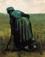 Van Gogh - Paysanne qui bêche