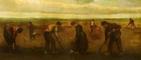 Van Gogh - Plantation de pommes de terres