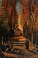 Van Gogh - Peupliers en automne