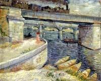 Van Gogh - Pont sur la Seine à Asnières