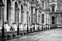 Les lampadaires du Louvre