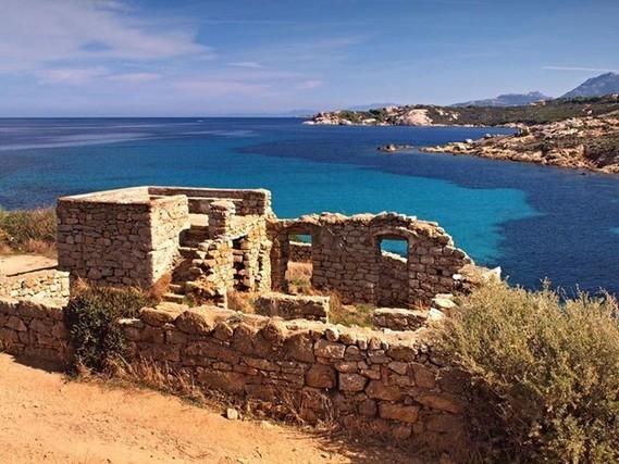 Corse,  pointe de la Révelata