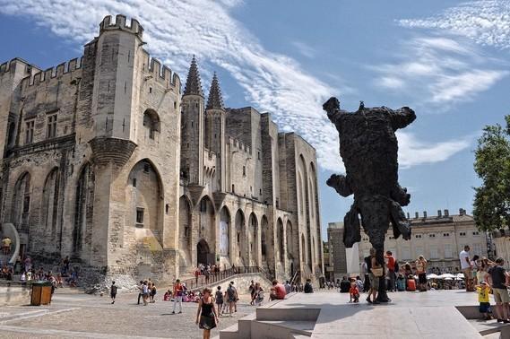 centre historique d'Avignon
