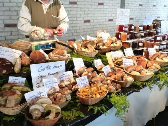 Cabourg, le marché
