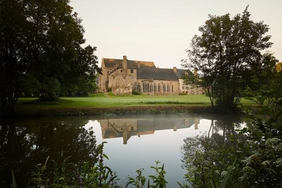 abbaye de Lehon, cotes d'armor