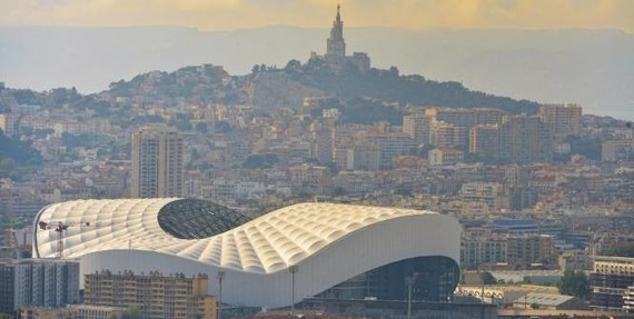 13 Marseille , le velodrome 2015