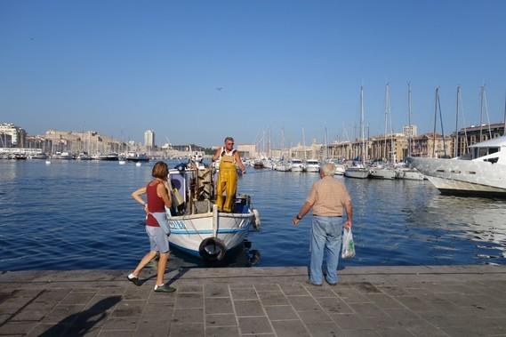 13 Marseille  retour de peche