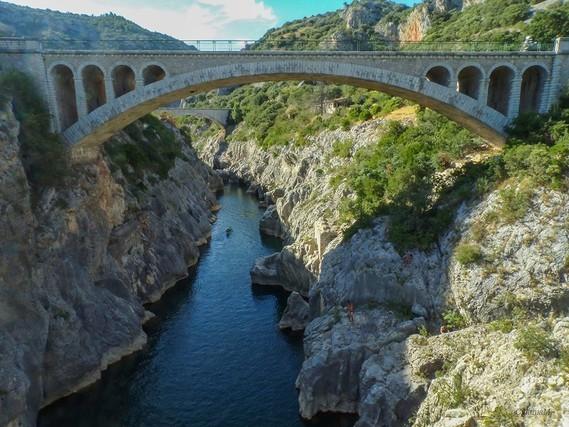34 Le pont du Diable , St Jean de Fos