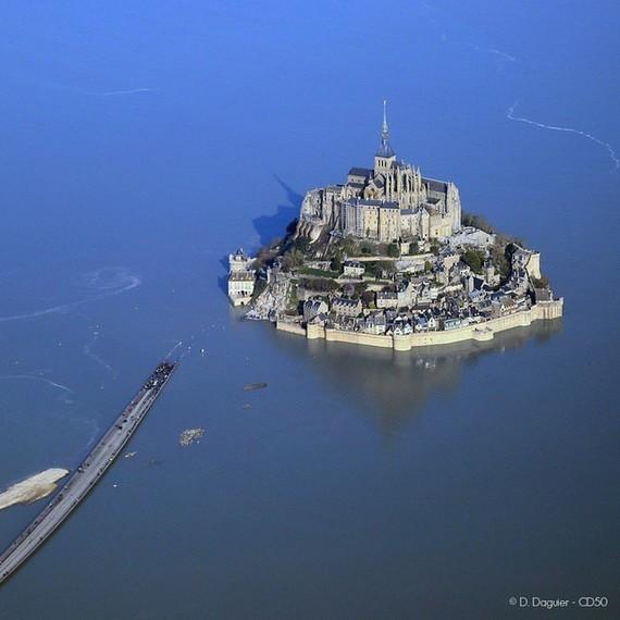 50, l'ile du Mont Saint Michel