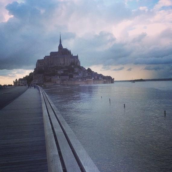 50, baie du Mont Saint Michel , les grandes marées