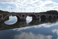 Toulouse , pont saint-michel