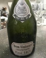 Dom Ruinart champagne rosé 1971