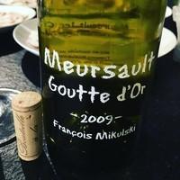 Meursault 1er Cru Gouttes d'Or 2009 Francois Mikulski