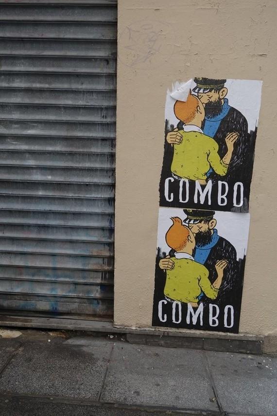 A Paris avec  Combo CK Perso et Combo Culture Kidnapper-