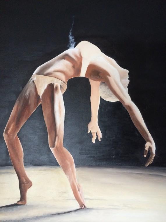 Danseuse (merci Pinterest pour la photo-modèle :)
