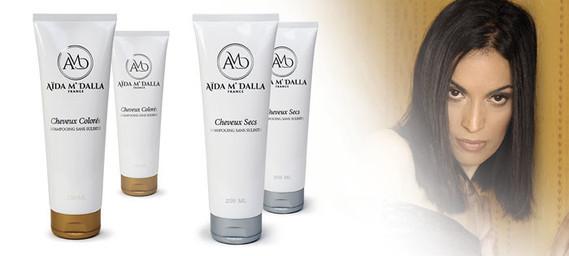 Shampoing et masque sans sulfates