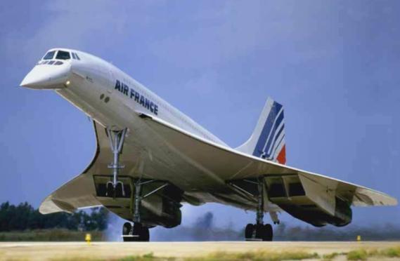 CONCORDE-Mars 1969-1er vol