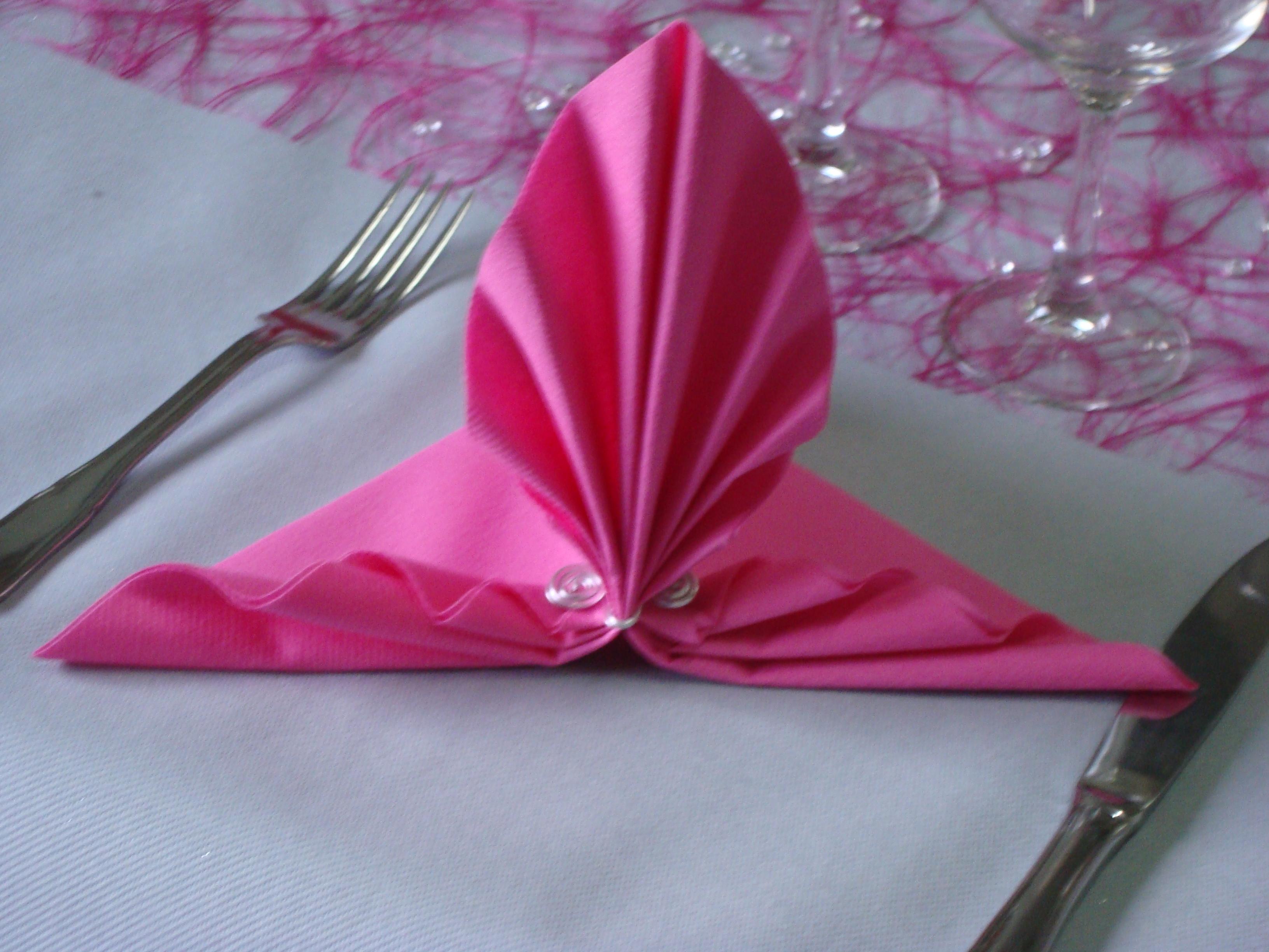 Pliage de serviette youtube fashion designs - Pliage serviette bonbon ...