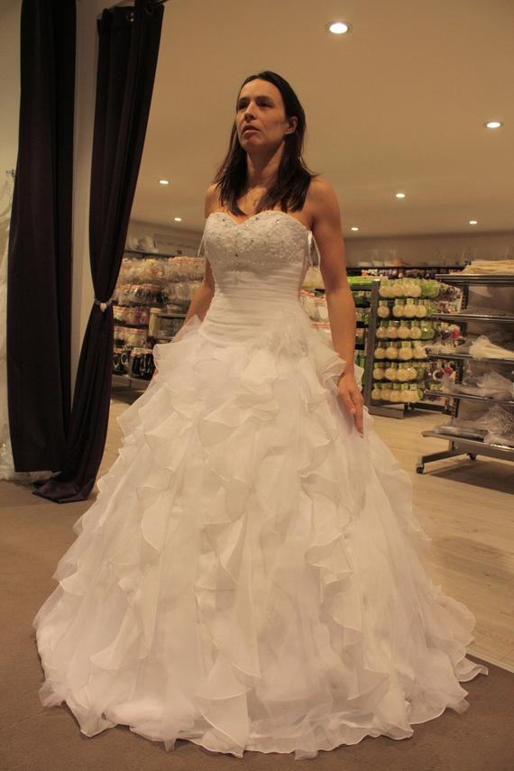 Robe de mariée : Tati, modèle Princess Ornella Baroquis