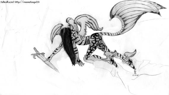 Tatoo Angel