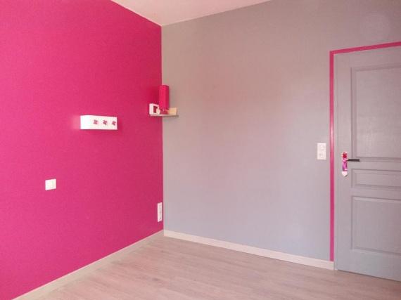 Chambre Enfant Rose Et Gris. Interesting Lot De Sur Papier Pour ...
