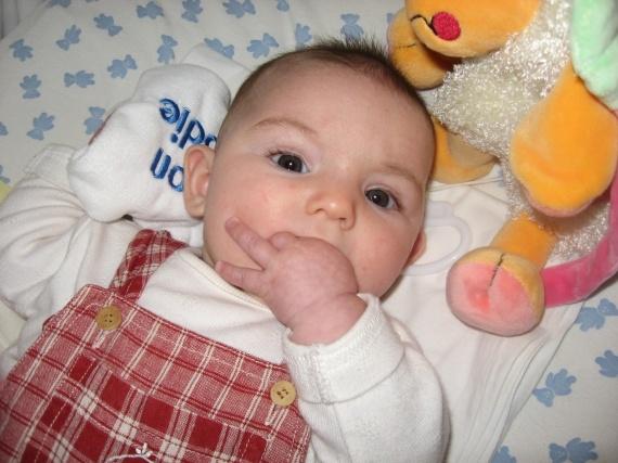 Maëla mange son poing