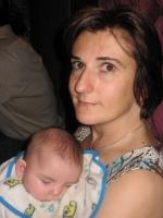 Maëla et sa maman