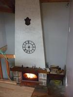 cheminé vu de la mezzanine