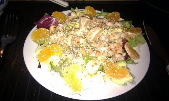 Salade exotique acidulée