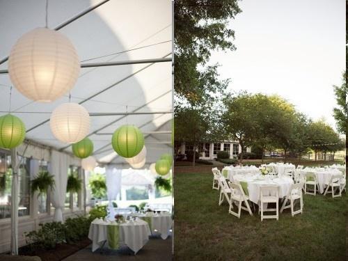 decoration salle mariage verte et blanche jardin photos koussane photos club doctissimo. Black Bedroom Furniture Sets. Home Design Ideas